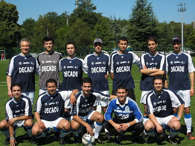 L'équipe de Décade quart de finaliste de l'IT Cup