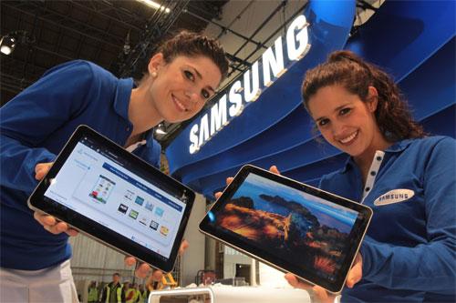 Galaxy Tab 10.1 et 8.9 : arrivée prévue le 8 août
