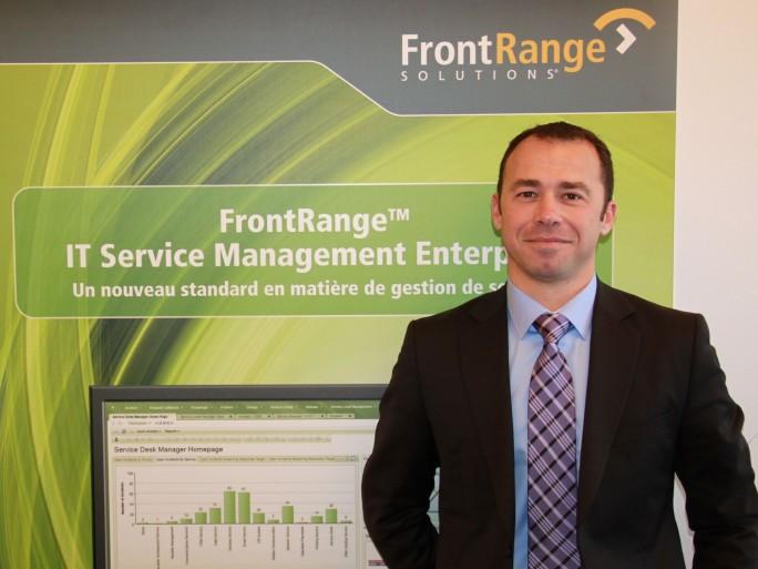 Luc Sabot, Regional Sales Manager chez FrontRange