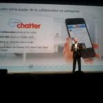 Salesforce Chatter, application vedette