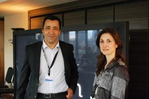 Ahmed Mouldaia, à gauche sur cette photo à côté de Kathy Schneider