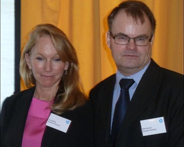 HP Lisa Wolfe et Bob Honour
