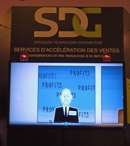 Les services d'accélération des ventes de SDG