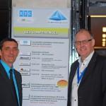 "Bruno Barat (DGA d'ETC) et son ""patron"" Paul Eccleston (SDG)"