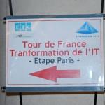 L'étape parisienne du Tour de France de la Transformation de l'IT
