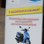 Un scooter à gagner