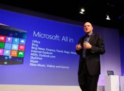 Windows 8 Steve Ballmer