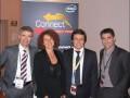 Alain Raison (Lenovo), Catherine Le Douche (Lenovo), Fabien Esdouroubail (Intel) et Luc Badier (Microsoft)