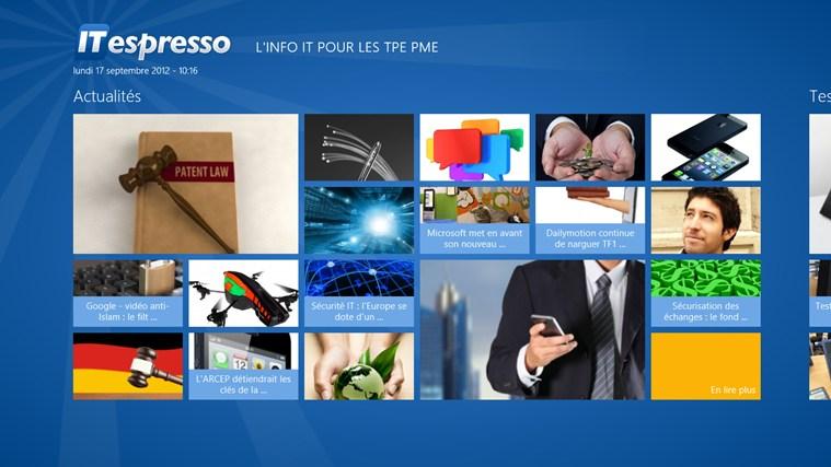 ITespresso version Windows 8