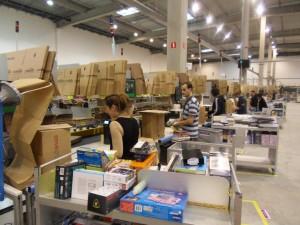Entrepôt Amazon à Saran (DR)