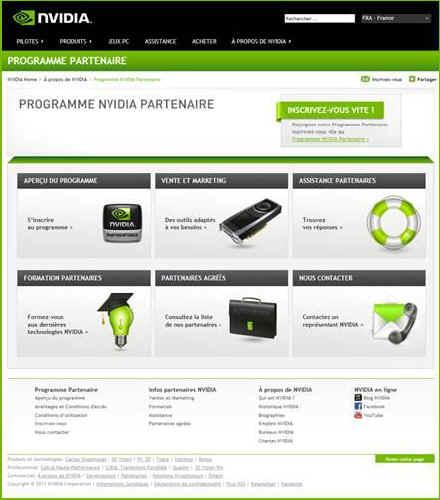 programme partenaires nvidia