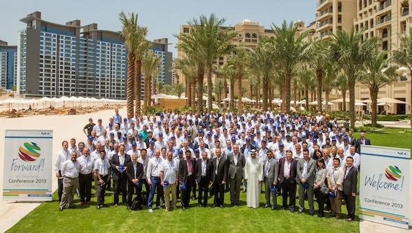 NEC Business Partners  - NEC EMEA Partner Conference 2013 - Dubai