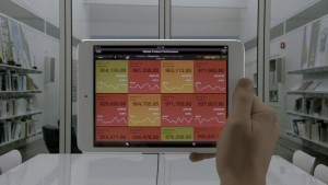 Roambi Analytics sur ipad