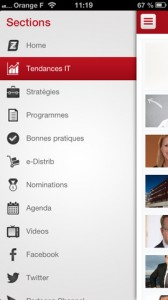 Appli iphone Channelbiz