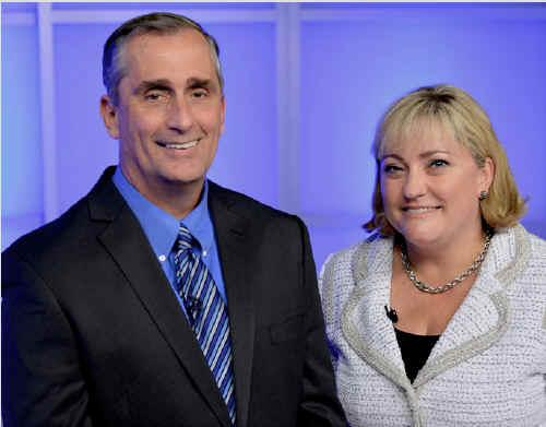 CEO et Présidente Intel