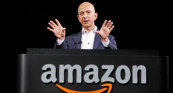 Jeff Bezos, CEO d'Amazon. (DR)