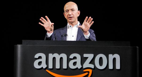 Jeff Bezos, CEO d'Amazon. (DR)
