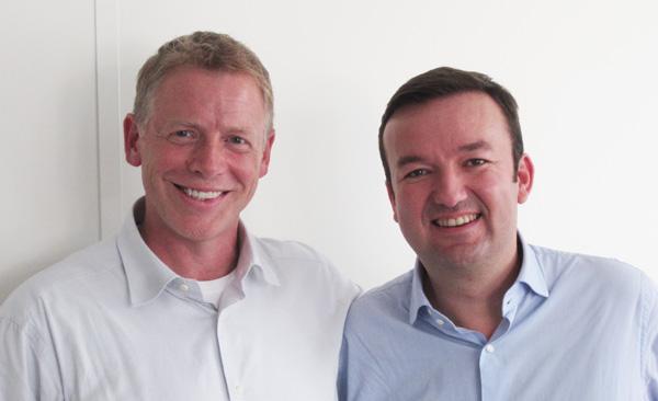 Scott Dietzen (Pure Storage) et Bertrand Bombes de Villiers (AntemetA)
