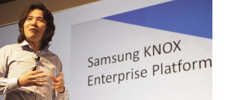 Dr. Injong Rhee, senior vice president and head of B2B R&D group, division IT & mobile chez Samsung Electronics