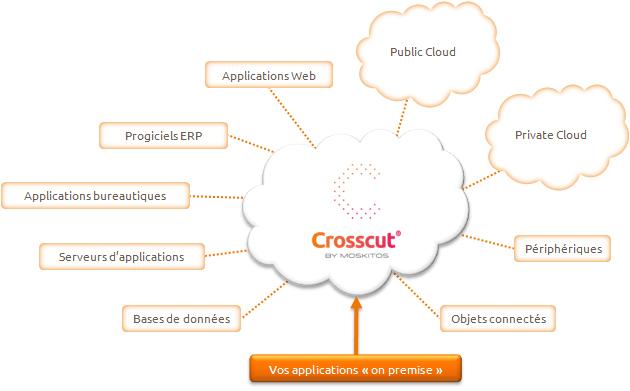 Schéma de Crosscut de Moskitos
