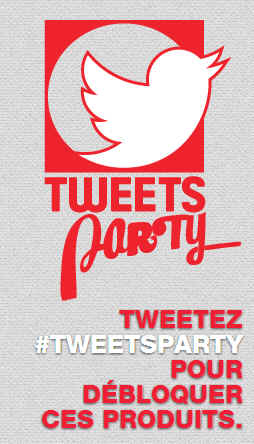 Darty Tweet party 2014
