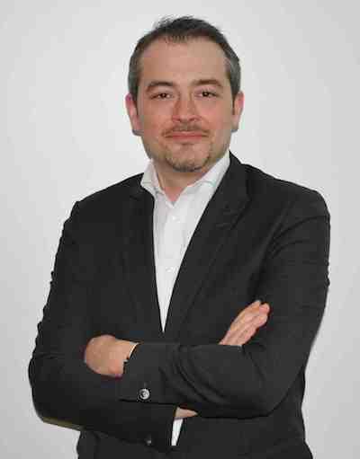 Éric Frances, Directeur commercial France, Europe du Sud et Benelux d'eGai