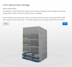 CloudStack Storage Mirantis