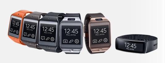 Bracelets Gear2 de Samsung