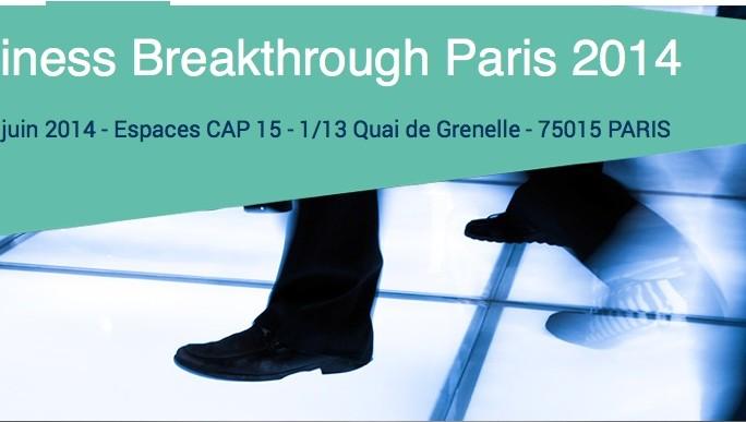 The Business Breakthrough Event le 3 juin