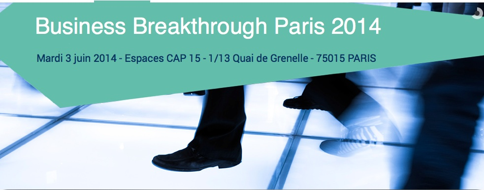The Business Breakthrough Event le 3 juin