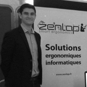 Hadrien Matringe, fondateur de Zenlap