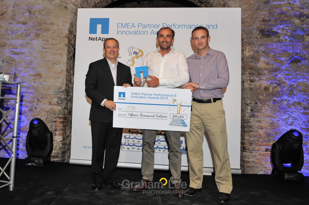 NetApp EMEA Cloud Partner  of the Year : APX
