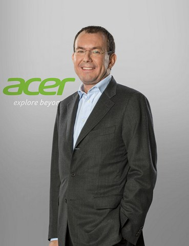 Luca Rossi, président d'Acer EMEA