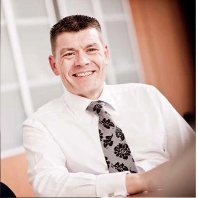Ian Metcalfe, directeur commercial chez Brother International Europe