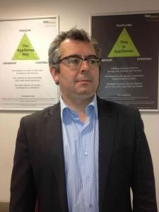 Stéphane HAURAY, Area VP France d'AppSense
