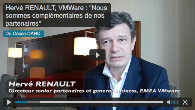 Hervé Renault, directeur senior partenaires et general business, Europe du Sud, Moyen-Orient, Afrique chez VMware