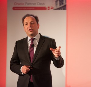 Brieuc Courcoux, alliances senior director Oracle France