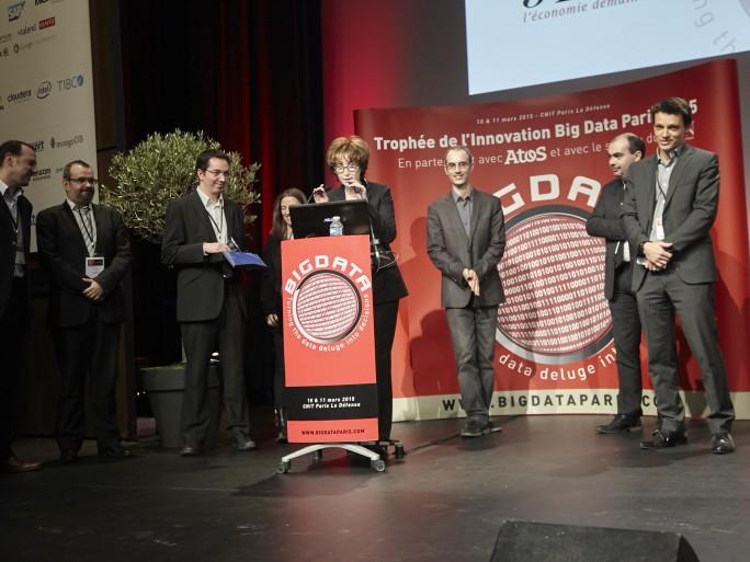 Cohéris reçoit le second prix du Trophée de l'innovation - Big Data 2015
