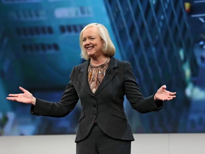 Meg Whitman, chairman, présidente et CEO d'HP