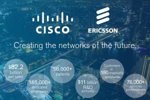 Cisco et Ericsson renforcent leur partenariat