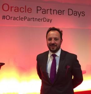 Brieuc Courcoux, directeur des partenaires Oracle France.