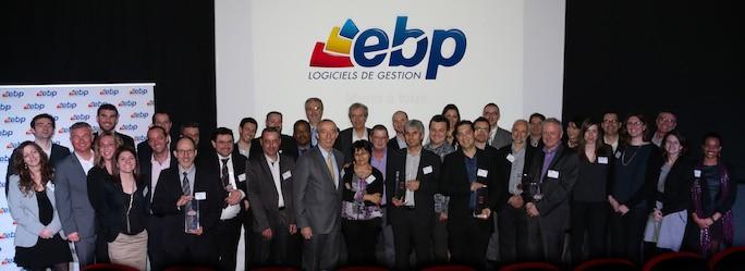 Gagnants Trophées EBP 2016