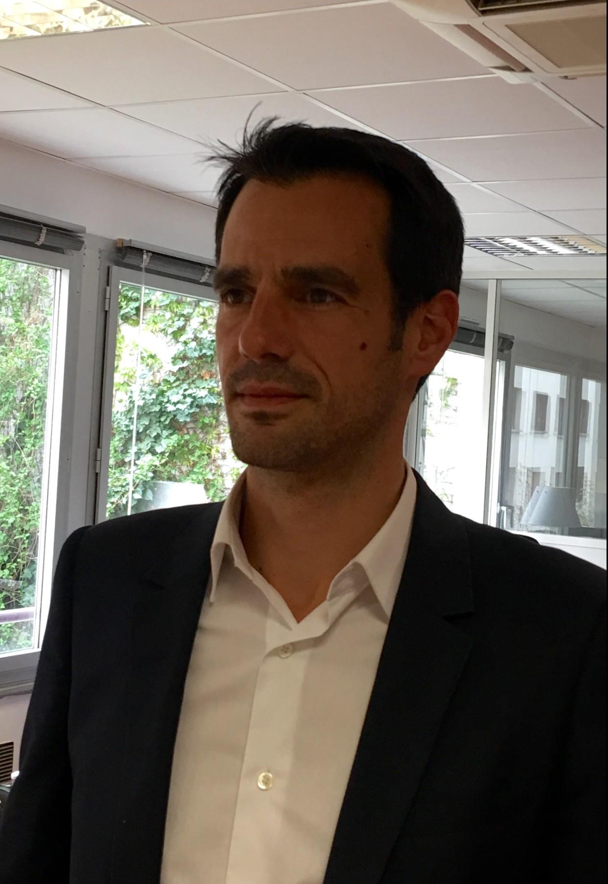 David Fierobe, directeur channel Europe du Sud, Benelux et Afrique du nord.