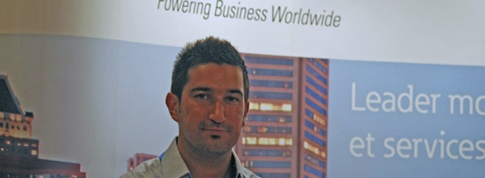 Laurent Badiali, IT Channel manager Europe du Sud d'Eaton.