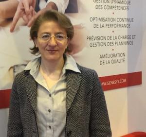 Claudine Cherfan, VP Europe du Sud de Genesys