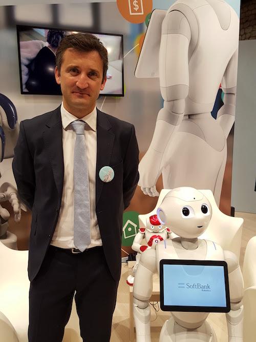 Julien Seret, VP entreprise monde de SoftBank Robotics.jpg