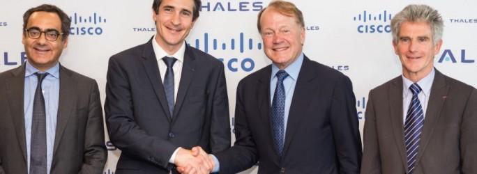 Cisco et Thales faut cause commune pour séduire les OIV