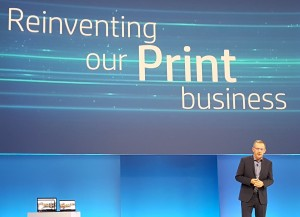 Enrique Lores, president, imaging printing and solutions HP