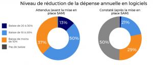 Le déploiement du Software Asset Management en France. Source : Etude IDC, avril 2017.